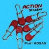 action stacker to increase catch rate